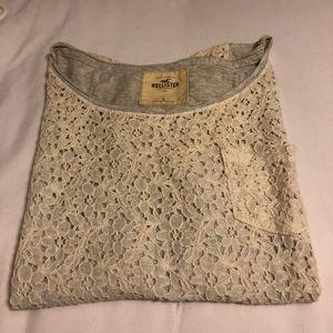 Hollister Crochet Top
